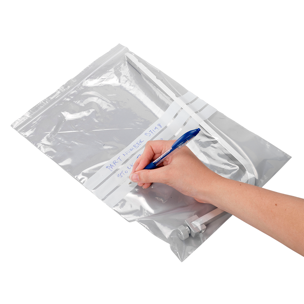 Pro-loc™ Grip Seal Bags (with write on panels)